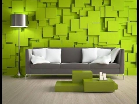 3D Wall Art Design Ideas To Stand Out Your Interior  Plan N Design Within Newest Painting 3D Wall Panels (View 1 of 15)