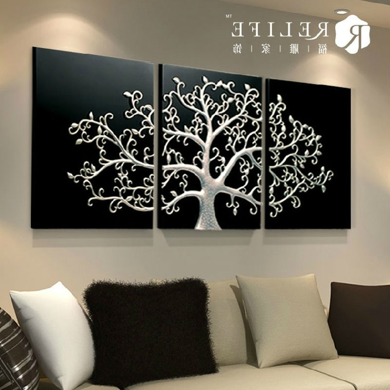 3D Wall Art Diy Oil Paintingnumbers&factory Price For Wholesale With Regard To Most Up To Date 3D Wall Art Canvas (View 4 of 15)