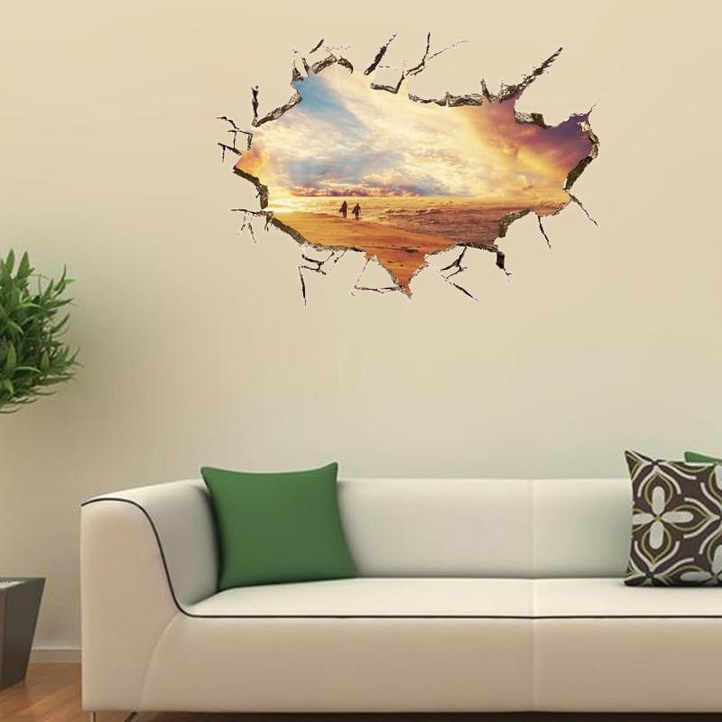 3D Wall Art For Kitchen Inside Current Kitchen Wall Stickers 3D Wall Sticker Wall Stickers Home Decor (View 2 of 15)
