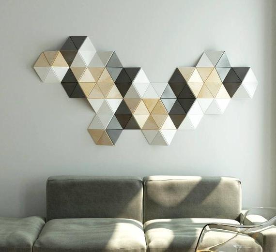 3D Wall Art Sculpture 3D Wall Decoration Decorative Wall (View 2 of 15)