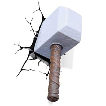 [%3D Wall Art Thor Hammer Nightlightmarvel [Toy]: Amazon.co.uk Regarding Popular 3D Wall Art Thor Hammer Night Light|3D Wall Art Thor Hammer Night Light Within Most Recently Released 3D Wall Art Thor Hammer Nightlightmarvel [Toy]: Amazon.co.uk|Trendy 3D Wall Art Thor Hammer Night Light Inside 3D Wall Art Thor Hammer Nightlightmarvel [Toy]: Amazon.co.uk|Most Recently Released 3D Wall Art Thor Hammer Nightlightmarvel [Toy]: Amazon.co (View 12 of 15)