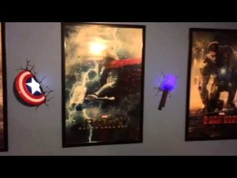 3D Wall Art With Lights throughout Well-liked Awesome 3D Deco Light Show! - Youtube