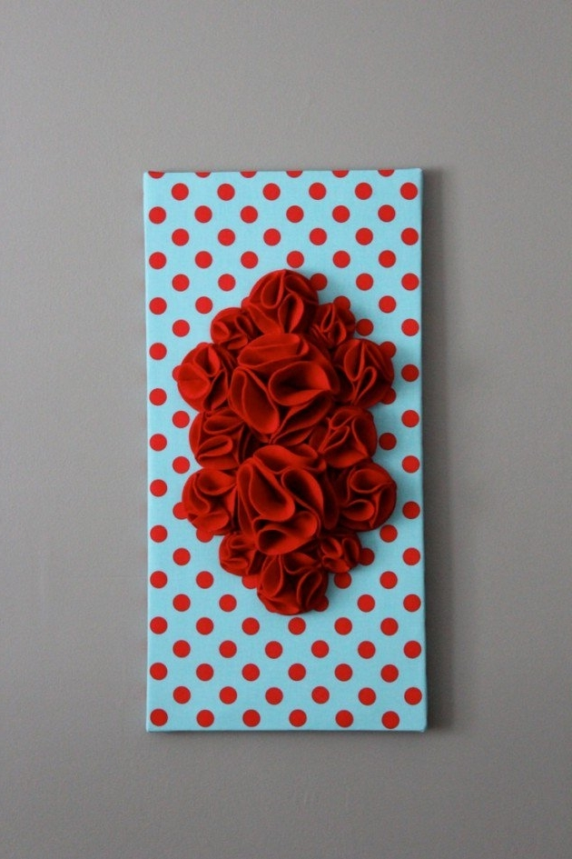 3D Wall Art With Paper Within Trendy 27 Amazing Diy 3D Wall Art Ideas (View 8 of 15)
