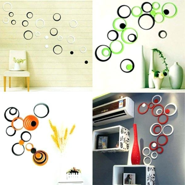 3D Wall Decor After You Are Done Setting Up These Stickers On within Most Popular Decorative 3D Wall Art Stickers