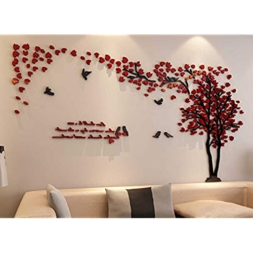 3D Wall Decor: Amazon For Most Recently Released Bedroom 3D Wall Art (View 12 of 15)