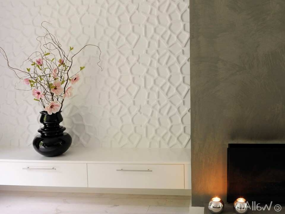 3D Wall Decor Awesome 3D Wall Panels Gaps Design Design (View 2 of 15)