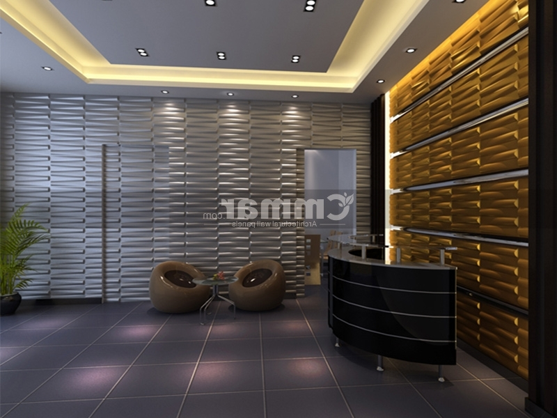 3D Wall Tiles (View 13 of 15)