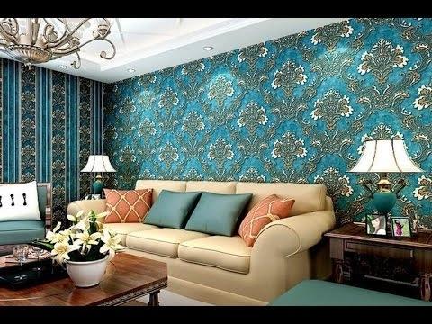 3D Wallpaper Wall Art (As Royal Decor) – Youtube In 2018 3D Wall Art Wallpaper (View 5 of 15)
