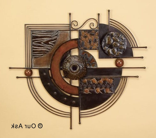 4 Eye Catching!!! Abstract Metal Wall Art And Sculpture (Gallery 10 of 15)