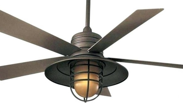 42 Inch Outdoor Ceiling Fans Within Fashionable Gorgeous 42 Inch Outdoor Ceiling Fan Of Matt Black Flush Mount (View 6 of 15)