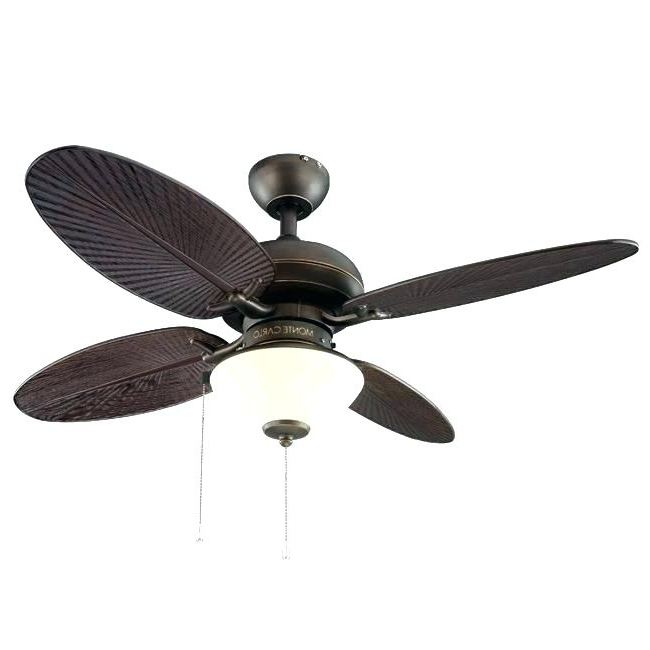 42 Outdoor Ceiling Fans With Light Kit Intended For Most Recent 42 Inch Ceiling Fans Harbor Breeze 42 In Ocracoke Ceiling Fan With (View 15 of 15)