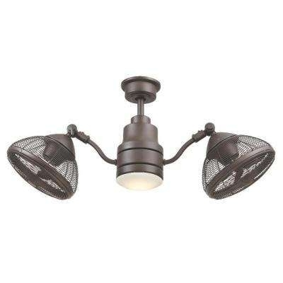 42 Outdoor Ceiling Fans With Light Kit Regarding Fashionable Pendersen 42 In. Led Indoor/outdoor Espresso Bronze Ceiling Fan (Gallery 10 of 15)