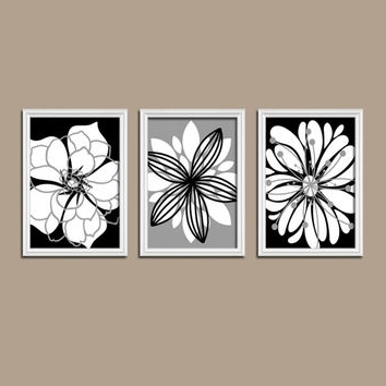 50 Black And White Wall Art, Black And White Forest Abstract Wall Within Most Popular Black And White Wall Art Sets (View 2 of 15)