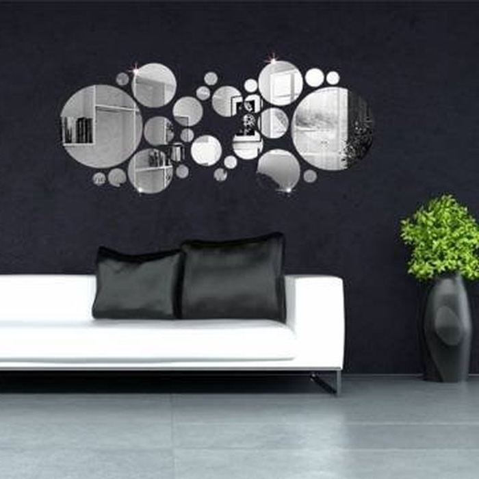 6. 3D Model Circles Wall Decor 2 Cgtrader Regarding Elegant Within Current Circles 3D Wall Art (Gallery 10 of 15)