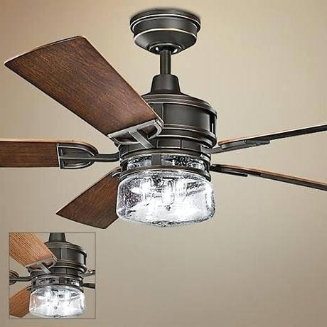 60 Inch Ceiling Fan With Light Patio Bronze Outdoor Ceiling Fan With Regard To Well Known 60 Inch Outdoor Ceiling Fans With Lights (View 11 of 15)