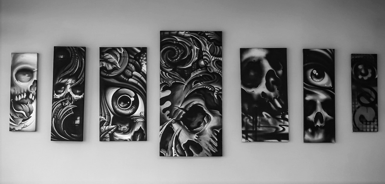 7 Day Gallery Tattoo Wall Art – 7 Day Gallery Tattoo Within Most Popular Tattoo Wall Art (Gallery 4 of 15)