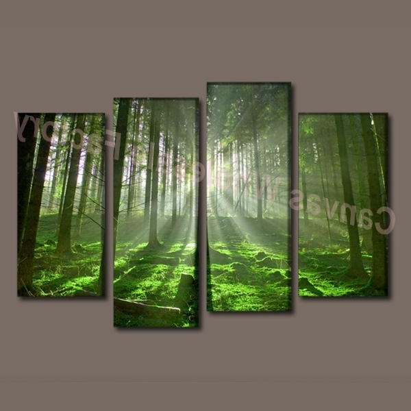 7 Piece Canvas Wall Art In Well Known Wall Art Designs: Stunning Painted 7 Piece Canvas Wall Art With (Gallery 6 of 15)