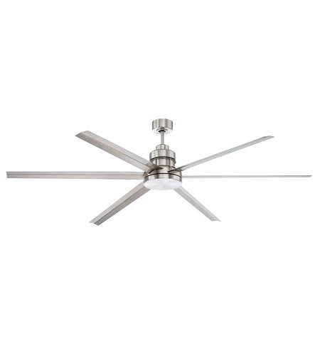 72 Inch Outdoor Ceiling Fans With Light Inside Current 72 Inch Ceiling Fan Inch Brushed Polished Nickel With Brushed Nickel (Gallery 5 of 15)