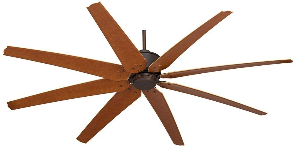 "72 Inch Outdoor Ceiling Fans With Light Intended For Well Known 72"" Predator English Bronze Outdoor Ceiling Fan – – Amazon (View 2 of 15)"
