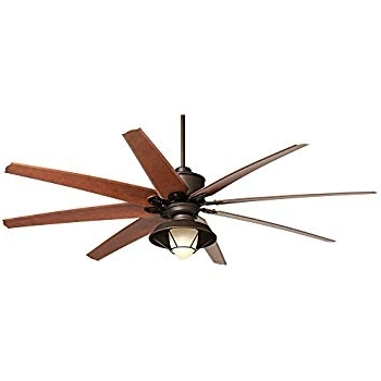 "72 Predator Bronze Outdoor Ceiling Fans With Light Kit For Most Popular 72"" Predator Bronze Outdoor Ceiling Fan With Light Kit – – Amazon (Gallery 1 of 15)"