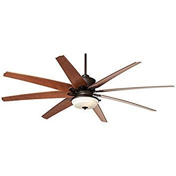 "72"" Predator Frost Light English Bronze Outdoor Ceiling Fan For Favorite 72 Predator Bronze Outdoor Ceiling Fans With Light Kit (View 4 of 15)"
