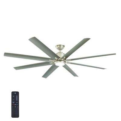8 Blades – Outdoor – Ceiling Fans – Lighting – The Home Depot Intended For Well Known Indoor Outdoor Ceiling Fans With Lights And Remote (Gallery 9 of 15)