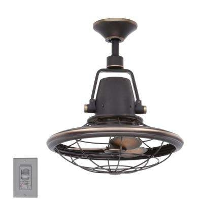 8 Blades – Rustic – Outdoor – Ceiling Fans – Lighting – The Home Depot With Fashionable Outdoor Ceiling Fans With Lights (View 3 of 15)