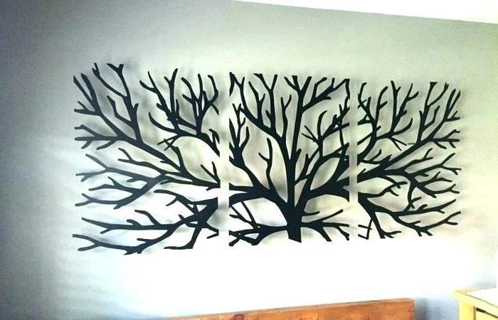 9. Oversized 60 In Wide Metal Wall Art Decor intended for Well known Oversized Metal Wall Art