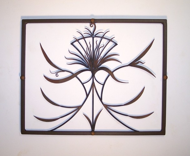 A Lovely Contemporary Wall Decor Sculpture, An Original Metal Art In Best And Newest Autumn Inspired Wall Art (View 14 of 15)