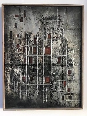 Abstract Aluminium Wall Art With Recent Metal Brutalist Wall Art Sculpture Abstract Relief Aluminium Mid (View 3 of 15)