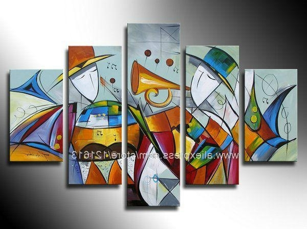 Featured Photo of Abstract Art Wall Hangings