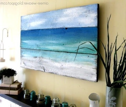 Abstract Beach Wall Art For Recent Wall Art Designs (View 10 of 15)