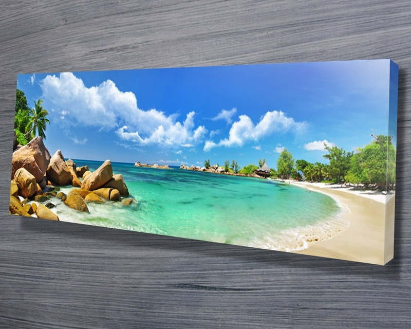 Abstract Canvas Wall Art Australia With Latest Thailand Paradise Beach – Canvas Prints Australia (View 3 of 15)