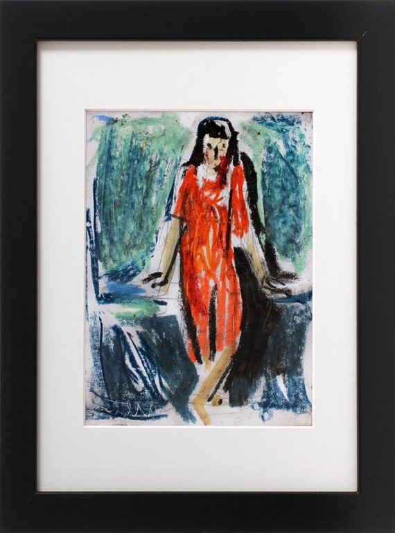 Abstract Expressionism Wall Art With Regard To Well Known Abstract Expressionism Wall Art Print Figurative Print (View 7 of 15)