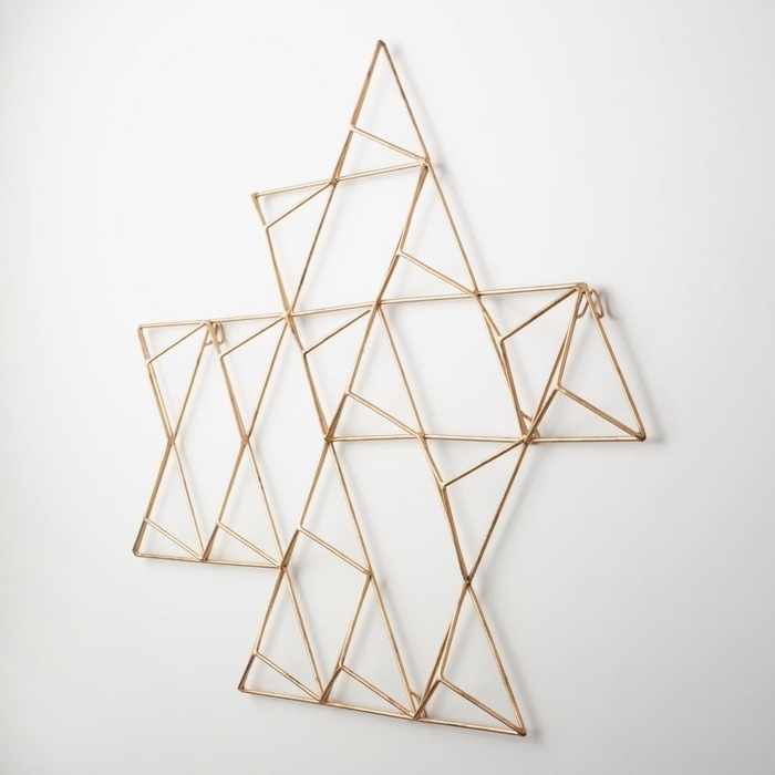 Abstract Geometric Metal Wall Art In Most Recent (View 8 of 15)