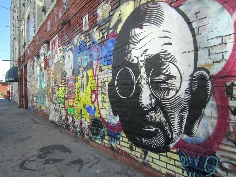 Abstract Graffiti Wall Art Pertaining To Well Known Graffitti Wall Art Abstract Art Wall Art Optical Pavement Art (View 4 of 15)