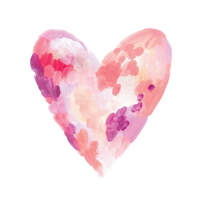 Featured Photo of Abstract Heart Wall Art