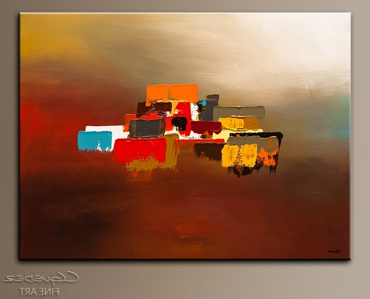 Abstract Horizon Wall Art Regarding Most Up To Date Contemporary Canvas Art Paintings – Horizon – Wall Art Gallery For (Gallery 5 of 15)