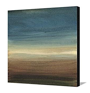 Abstract Horizon Wall Art With Favorite Amazon: Canvas Print Wall Art 'abstract Horizon Iv'ethan (View 3 of 15)