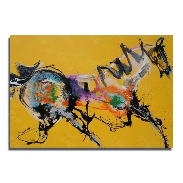 Abstract Horse Wall Art New Design Wall Pictures For Living Room Intended For Well Known Abstract Horse Wall Art (Gallery 6 of 15)
