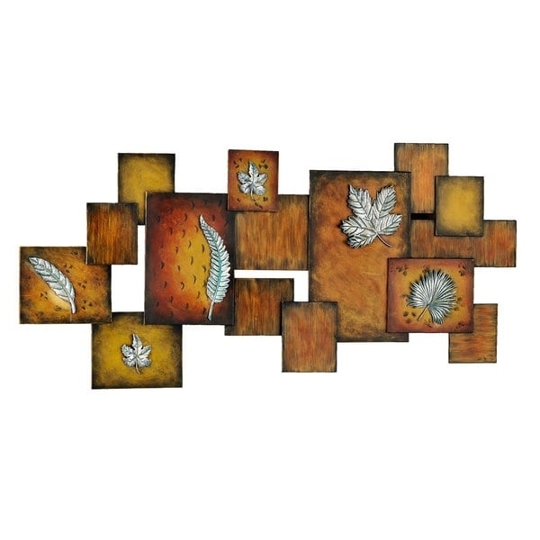Abstract Leaves Wall Art With Regard To 2018 Shop Harper Blvd Abstract Leaves Panel Wall Art – On Sale – Free (View 14 of 15)