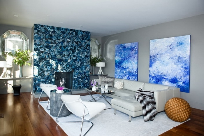 Abstract Living Room Wall Art Pertaining To Widely Used Wall Art Designs: Awesome Abstract Wall Art For Living Room With (View 3 of 15)