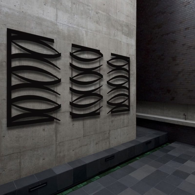 Abstract Metal Design For Abstract Outdoor Wall Art (View 3 of 15)