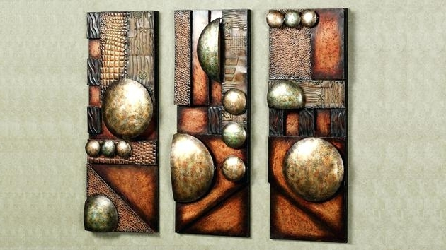 Abstract Metal Sculpture Wall Art Intended For 2018 Abstract Metal Wall Art Modern And Contemporary Sculptures Decor (View 12 of 15)