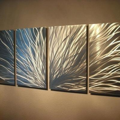 Abstract Metal Wall Art Australia Inside Popular Metal Wall Art Abstract Radiance Abstract Metal Wall Art (View 3 of 15)