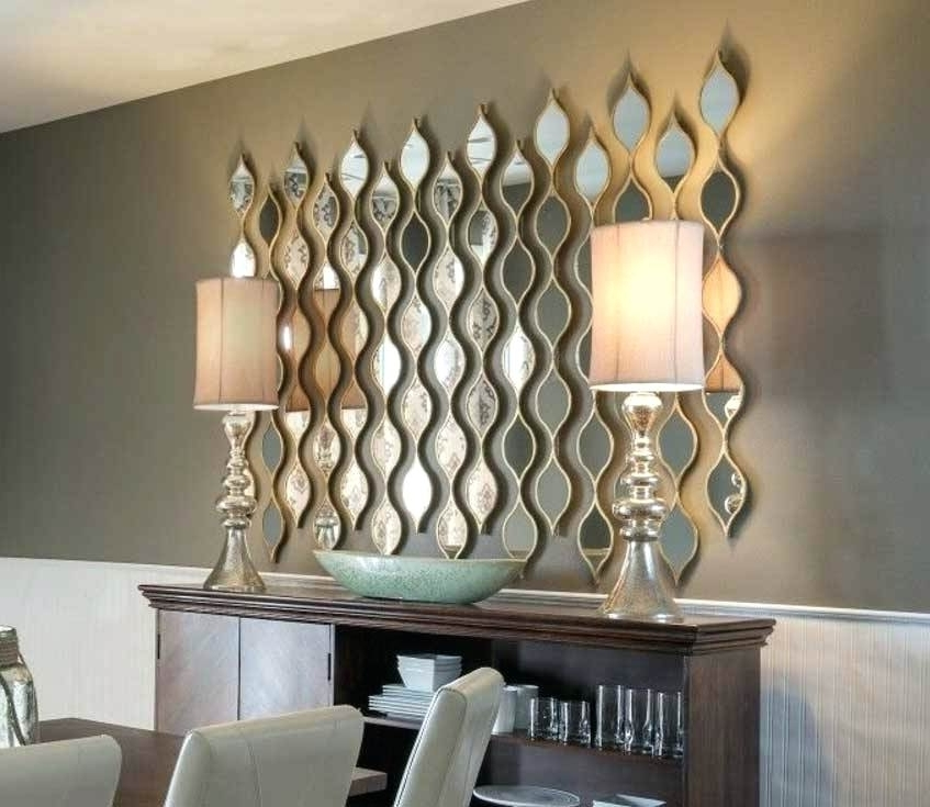 Abstract Mirror Wall Art With Regard To Trendy Abstract Mirror Wall Art Abstract Art Mirrors For Walls In Modern (View 8 of 15)