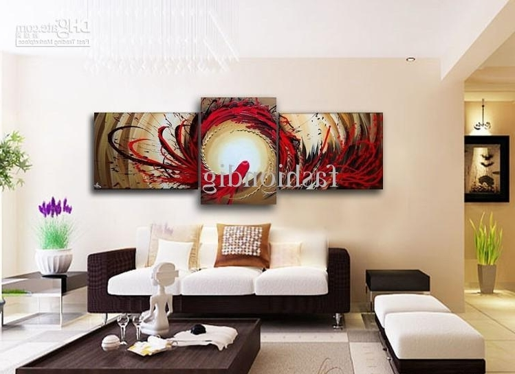 Abstract Office Wall Art Inside Best And Newest Wall Painting Abstract Phoenix Oil Painting Canvas Modern Home (View 8 of 15)