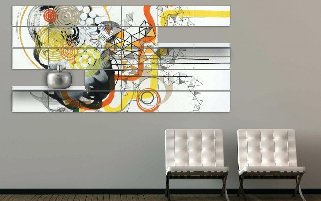 Featured Photo of Abstract Office Wall Art