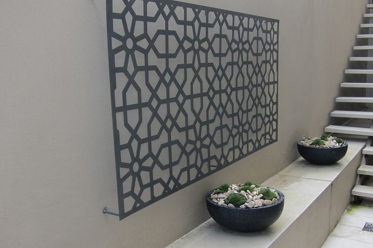 Abstract Outdoor Wall Art Within Most Recent Artistic Outdoor Wall Art Is Designed Using The Amazing Design With (View 2 of 15)