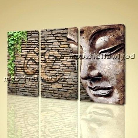 Abstract Wall Art Canada Regarding 2017 Zen Wall Art Large Abstract Zen Wall Art Print On Canvas Picture (View 8 of 15)